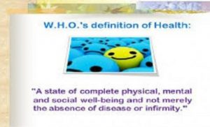 Health, Illness, Disease and Sickness: Understanding What They Really Mean
