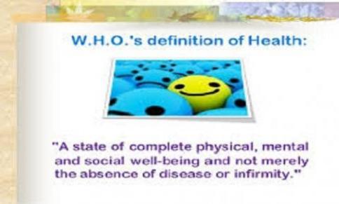 Defining illness,sickness and disease