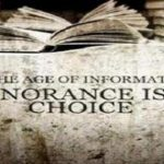 Chose not to be Ignorant